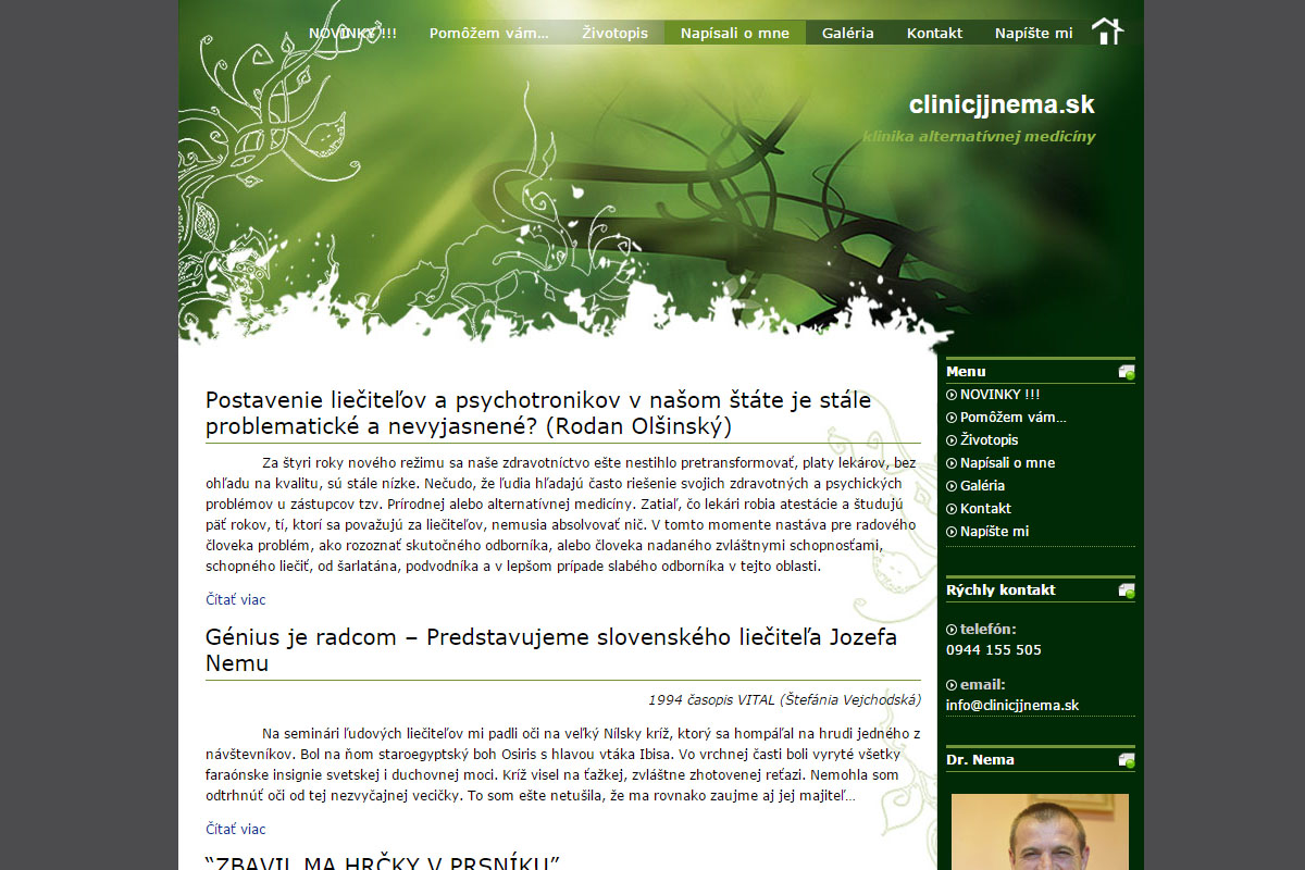 wordpress stranka